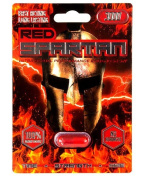 Red Spartan 3000 - Male Enhancement Sex Pill - All Natural Performance