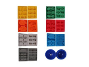 Set of 8 Star Wars Silicone Ice Cube Trays / Moulds