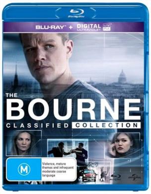 The Bourne Quadrilogy Blu-ray 5Disc