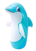 100cm 3D Dolphin Animal Big Time Toys Bop Bag ( Bopper Power Bag / Punching bag ) - Blow Up Inflatable
