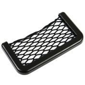 Car Storage Net Bag Car Seat Side Phone Holder Organiser Auto Net Pocket Universal Mini