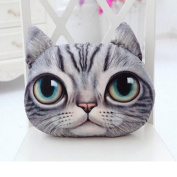 TOPBY Adorable Meow Stuffed Cuddle Pillow Cushion Plush Toy for Car Sofa Chair Bed Decor