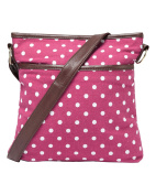 Cotton Traders Womens Ladies Adjustable Strap Spot Cross Body Bag Shoulder Purse