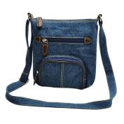 CHIC-CHIC Women Ladies Casual Handbag Messenger Hobo Bag Tote Purse Satchel Denim Shoulder Bags