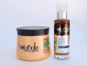 Keratin Restorative Hair Mask & Natural Hair Oil
