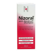 Nizoral Anti Dandruff Shampoo, 60 ml - Pack of 2