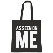 Batch1 As Seen On Me Tv Slogan Celebrity Fashion Tote Bag Shopper