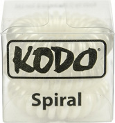 Kodo Spiral Pearl Hair Bobble Pack of 3, Pain Free Hair Band, Reduces Split Ends by Kodo