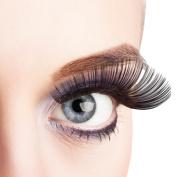 Pair of XL Eyelashes Deluxe False Long Black Extra Large Eye Lashes Individual Use Self Adhesive Fancy Dress Accessory
