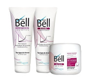 Pack Trio Hairbell Activator shoot from hair Shampoo +Balm+Mask