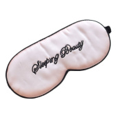 Pure Silk Comfortable Sleep Mask Eye-shade Aid-sleeping Beauty
