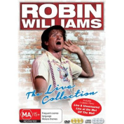 ROBIN WILLIAMS THE LIVE COLLECTION (JB EX) [DVD_Movies] [Region 4]