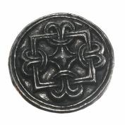 Asgard Pewter Viking Copenhagen Borre Knot Disc Brooch
