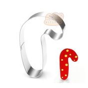Stainless Steel Kitchen Tool Cookie Cutter - candy cane