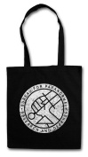 BUREAU FOR PARANORMAL RESEARCH AND defence BPRD Hipster Shopping Cotton Bag - Logo Hellboy