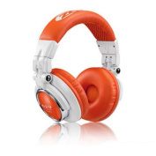 Zomo HD-1200 Professional Stereo Headphones 110 dB with 3 m Cable White / Orange