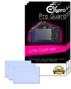 Ex-Pro® 3 x Pro Guard Ultra Clear View LCD Screen Protectors for Nikon D5200