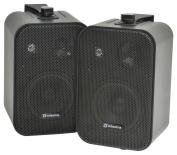 Adastra B30V-B Powerful 3 Way Speaker with Mounting Brackets - Black