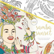 KaiserColour Perfect Bound Colouring Book-Samba Sunset