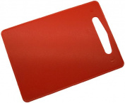 Fackelmann 39016 Plastic Chopping Board LLDPE Polyethylene 34 x 24 CM Red