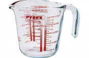Pyrex 0.5 Litre Glass Measuring Jug.