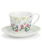 Roy Kirkham Meadow Flowers Teacup and Saucer