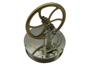 Funtech Brand New Low Temperature Stirling Engine Education Toy Kit - Gold Colour