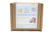 Simply Bee Well Moisturising Bar Soap - Honey & Coconut Fragrance