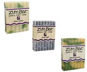 Fresh and Balancing Zum Bars - Lime-Basil, Sea Salt & Lemongrass by Indigo Wild