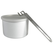 Wax Necessities White Empty Wax Can 400g 420ml & 1 Handle for Wax Can Fits Most Warmers