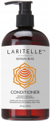 Laritelle Organic Conditioner 470ml | Hair Loss Prevention, Anti-Breakage, Split Ends Treatment | Argan Oil, Rosemary & Palmarosa | Leave-in, Wash-out or Deep Conditioner | NO GMO Sulphates, Gluten, Alcohol, Parabens, Phthalates