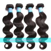 Green 3 Bundles Brazilian Body Wave Hair Extensions 95-100g/pc 6A Unprocessed Virgin Brazilian Human Hair Weave Natural Hair Colour
