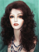 PRETTY GIRL Soft Loose Curls Wig by Mona Lisa - 33 Dark Auburn