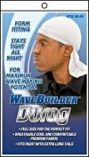 WAVE BUILDER Du-Rag with Long-Tie WHITE (Model
