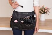 Natural Maker Professional Cosmetic Makeup Brush Pu Apron Bag Artist Belt Strap Protable Make up Bag Holder