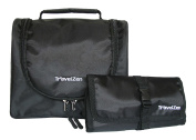 Flexi Travel Toiletries Kit - Hanging Toiletry Bag w Multi Use Wallet