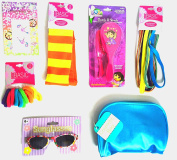 Dora the Explorer Red Hair Brush and Comb Hair Ties and Elastic Hair Bands - Sunglasses - Body Jewellery Tattoo