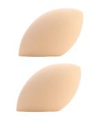 iSuperb 2 PCS Makeup Sponges Latex-Free Egg Shaped Sponge for Flawless Foundation