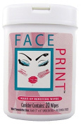 Face Print (New!) - Premium Make-Up Removing Wipes 80ct (4 x 20ct canisters per order) **Special Introductory Pricing**