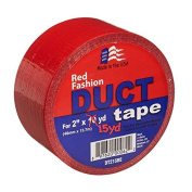 Signature Crafts DT215RE Fashion Duct Tape, 15 yd 4.8cm , Solid Red