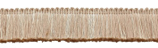 Ivory, 4.4cm Basic Trim Brush Fringe Style# 0175SB Colour