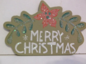 *MERRY CHRISTMAS* Mini Chipboard Embellishment