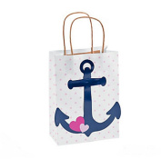 Nautical Girl Kraft Paper Bags