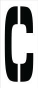National Marker Corp. PMC24-C Stencil, Letter C, 60cm