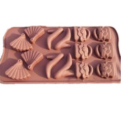 DIY Silicone Mould Soap Mould Candy Chocolate Biscuit Cake Cookies