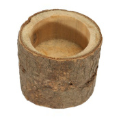 Oulii Wooden Candlestick Holder