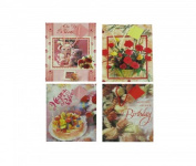 1 X Lot of 12 Paper Gift Party Bags [Health and Beauty]