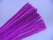 Trimits ST17 | Purple Chenille Straight Pipe Cleaners | 6mm x 30cm | 100 pack