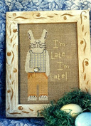 Late Rabbit - Evermore Designs Counted Cross Stitch Chart #306