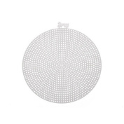 Circle-Shaped Plastic Canvas - 11cm .
